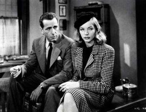 Lauren Bacall in The Big Sleep